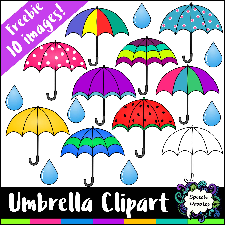Free Umbrella Clipart Mini Bundle - 10 images!... by ...