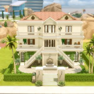 House 42 - Modern - The Sims 4 #buildingahouse