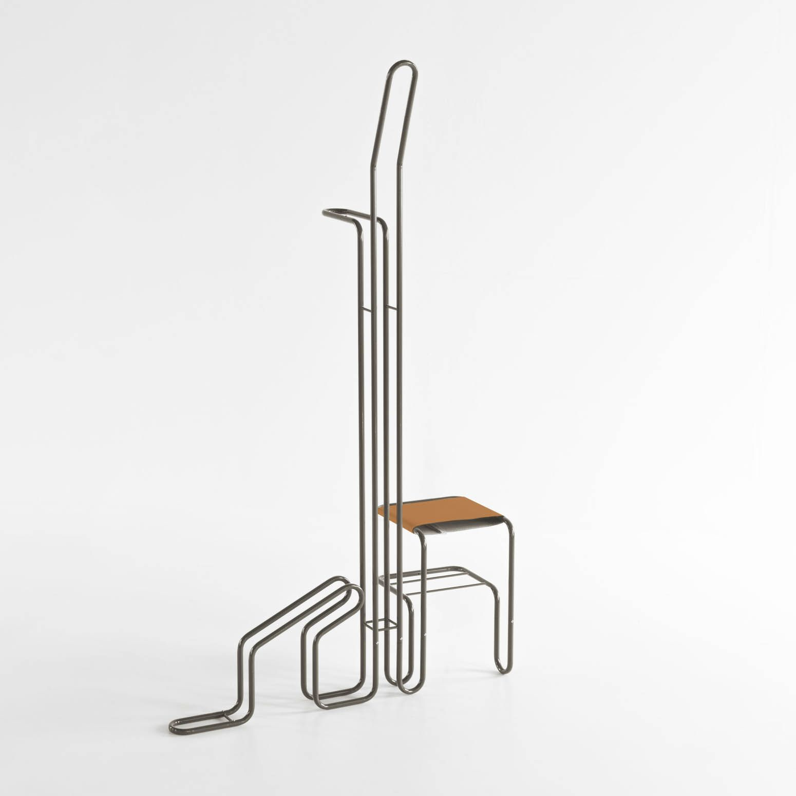 Velodromo / coat rack and bike stand / design Bastian Hoeges / Formabilio