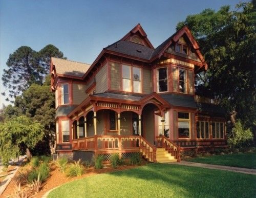 Folk Victorian Victorian Homes House Styles House Architecture Design