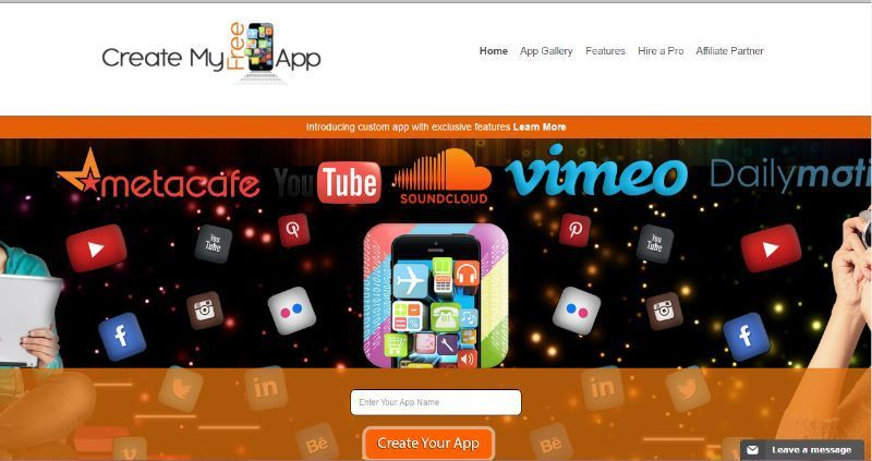 Create my free app a free custom app maker that lets you