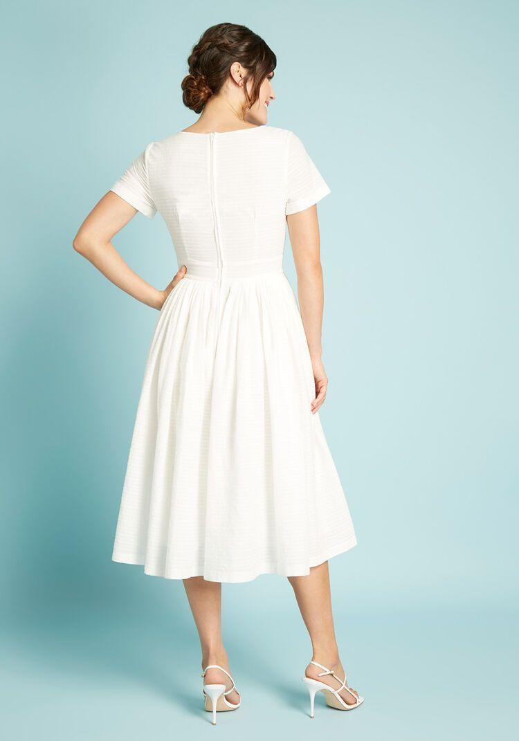Fabulous Fit And Flare Shirt Dress Midi Dress With Sleeves Flare Shirt Fit And Flare [ 1071 x 750 Pixel ]