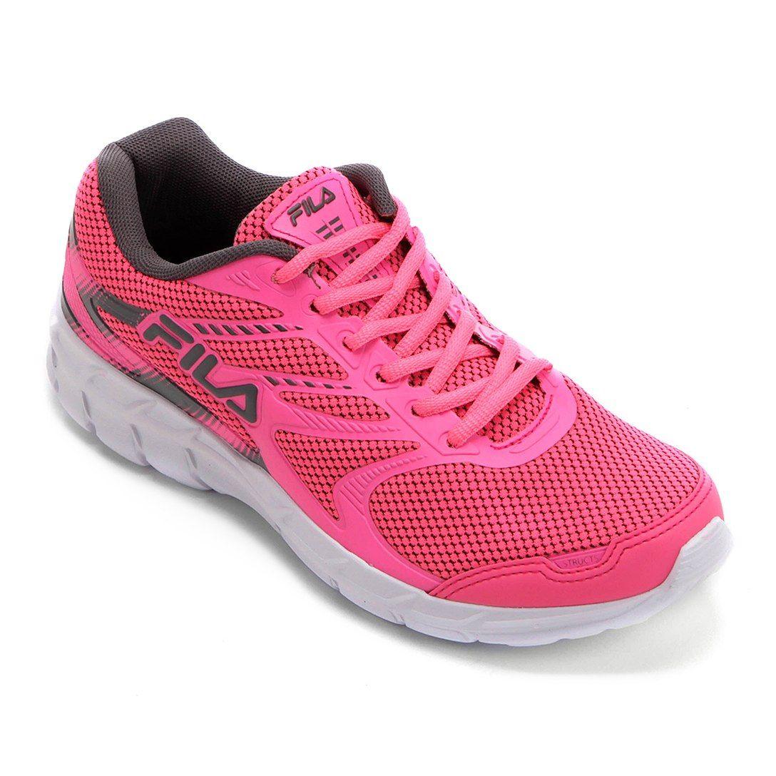 121555f9977 Tênis Fila Structs Feminino - Pink+Branco