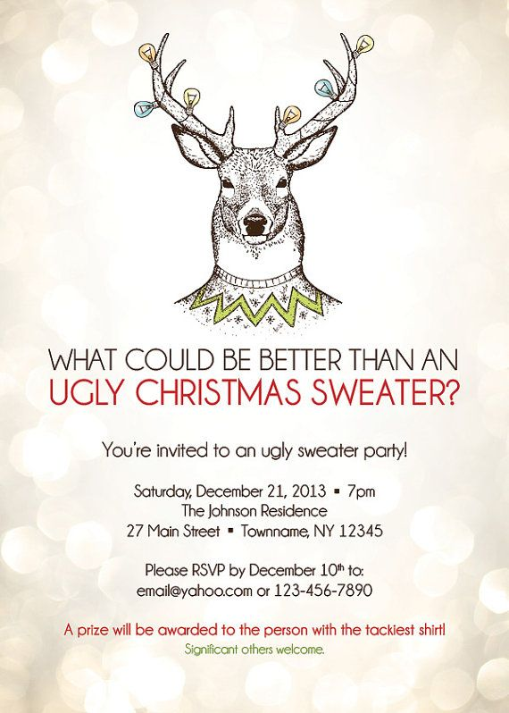 Pin By Misty Smith On Ugly Sweater Party Pinterest