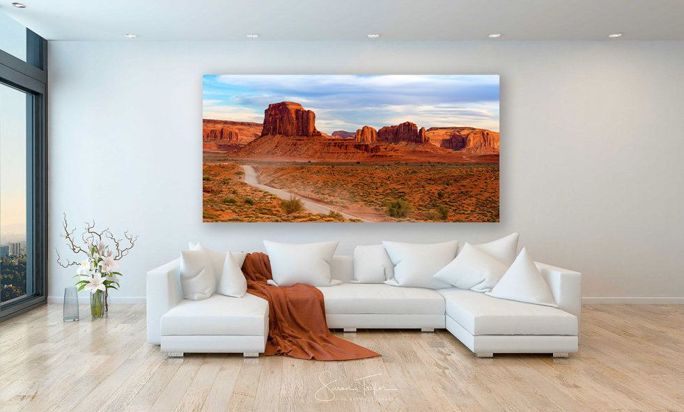 Large Travel Canvas Monument Valley Wall Art Arizona Etsy Photo Wall Art Photo Canvas Travel Canvas