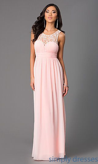 Pastel Floor Length Dresses Weddings Dresses