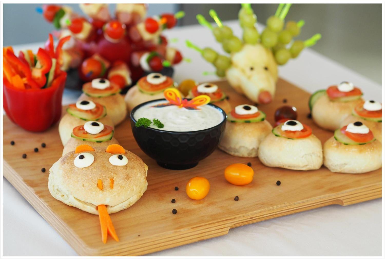 Partyschlange Fingerfood Fur S Gesunde Buffet Rezept Kochen