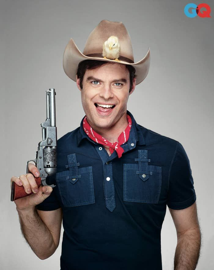 Bill Hader Is All Different Kinds Of Funny For GQ Magazine