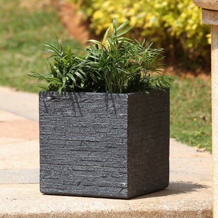 Patio Garden Square Planters Planters Large Outdoor Planters