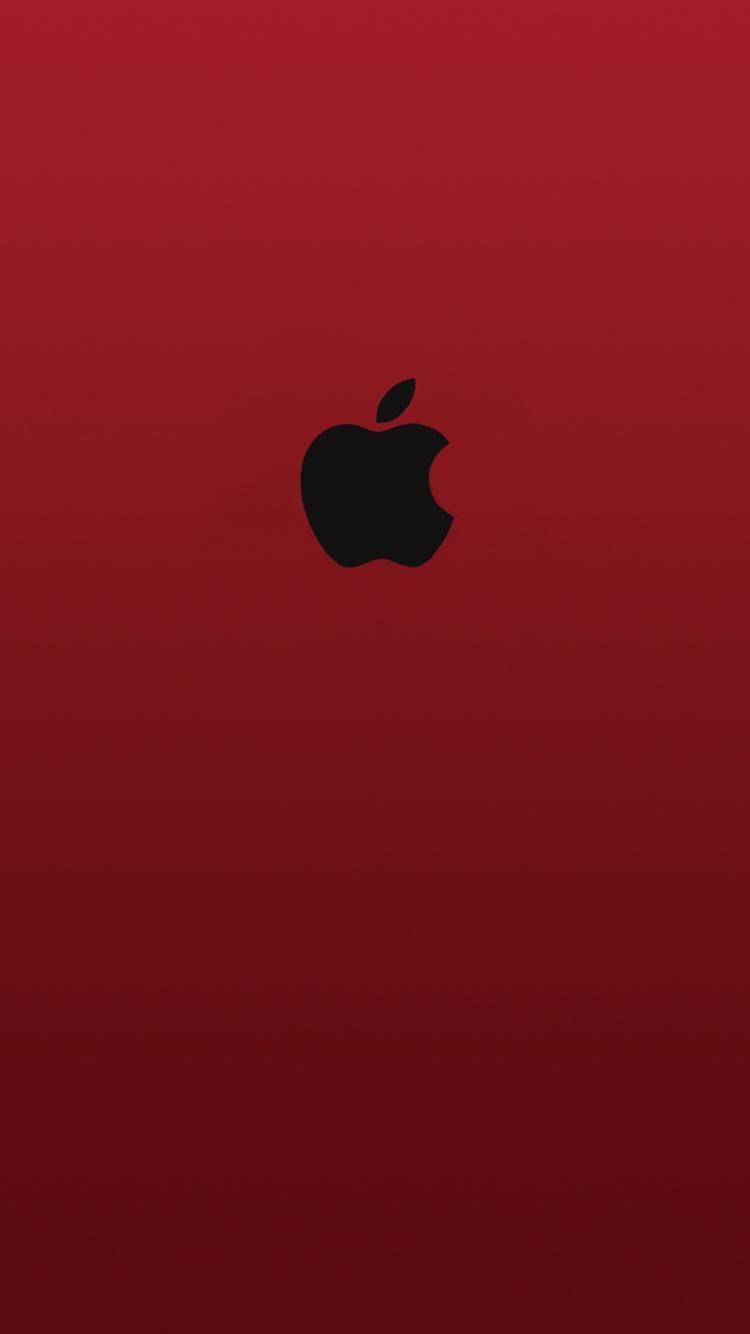 Apple Red Black Logo Apple Logo Wallpaper Iphone Apple Wallpaper Iphone Wallpaper Logo