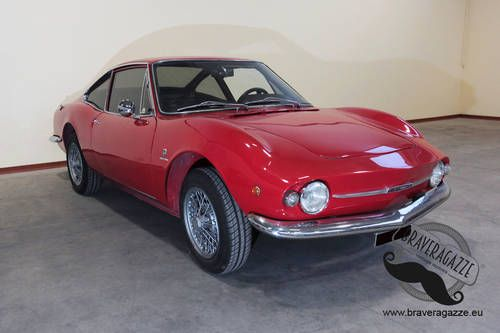 Wonderful Fiat 850 Coupe Moretti Sportiva S2 For Sale 1968 With
