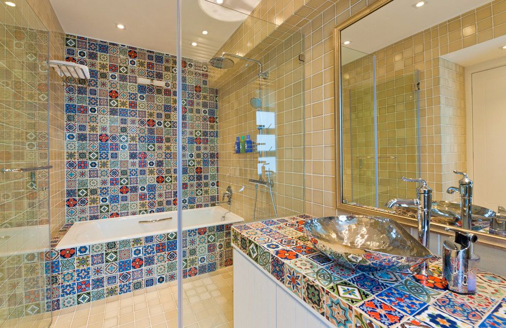 Amazing Mexican Tile Bathroom Ideas Home Design Ideas