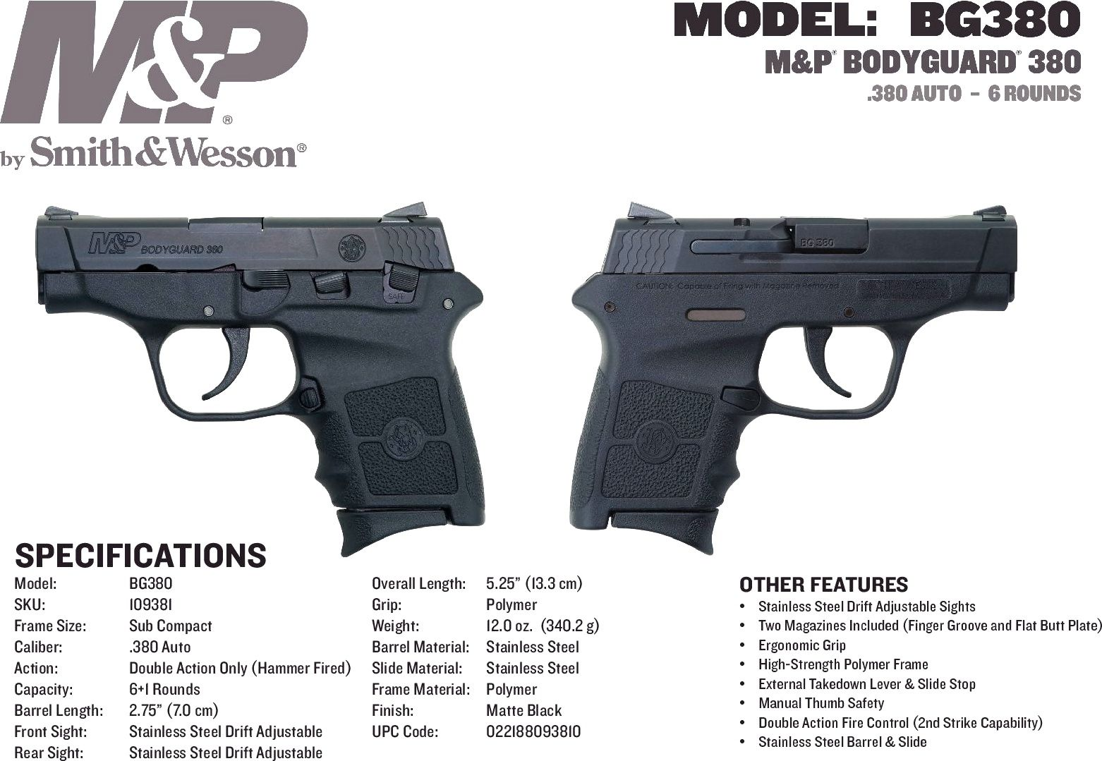 pin by rae industries on smith and wesson bodyguard 380 pinterest rh pinterest com smith and [ 1562 x 1079 Pixel ]