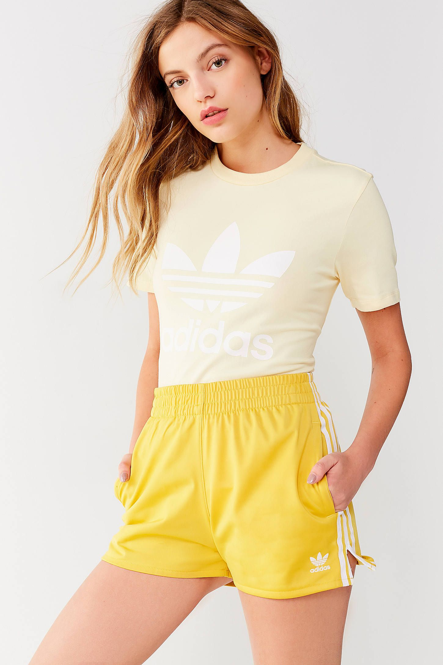 63ed203b704 Shop adidas Originals 3 Stripes Short at Urban Outfitters today. We carry  all the latest styles