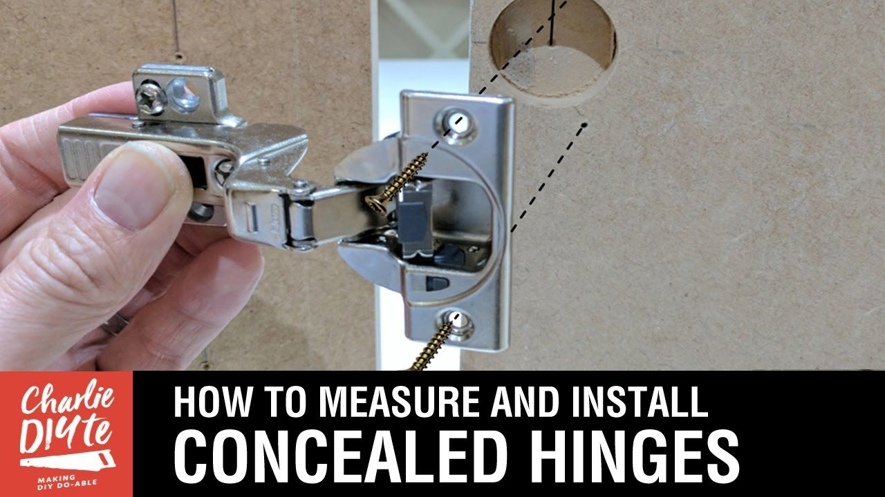 How To Measure Install Concealed Hinges On Cabinet Doors Blum