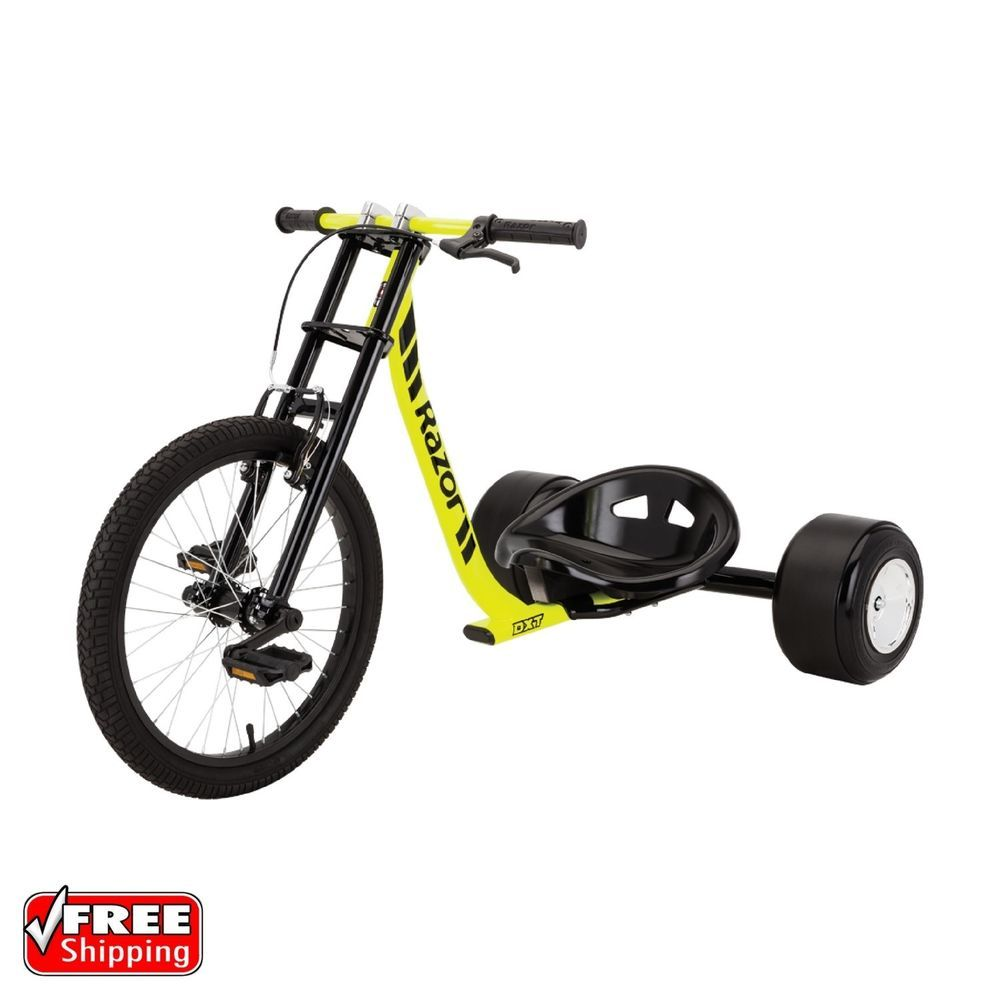 Details About Razor Scooter Drift Trike Adult Tricycle Bike