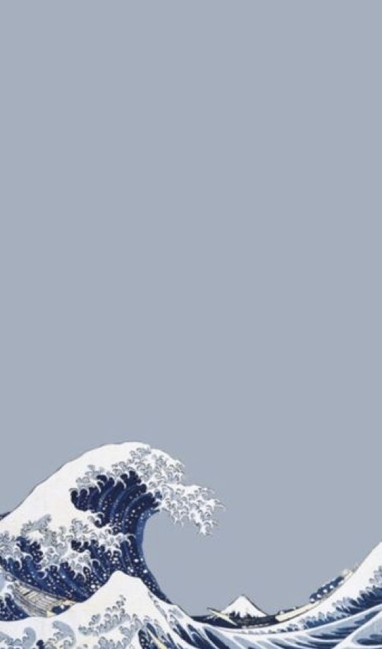 Download Premium Vector Of Blue Japanese Wave Background Vector 843160 Waves Wallpaper Iphone Background Wallpaper Art Wallpaper