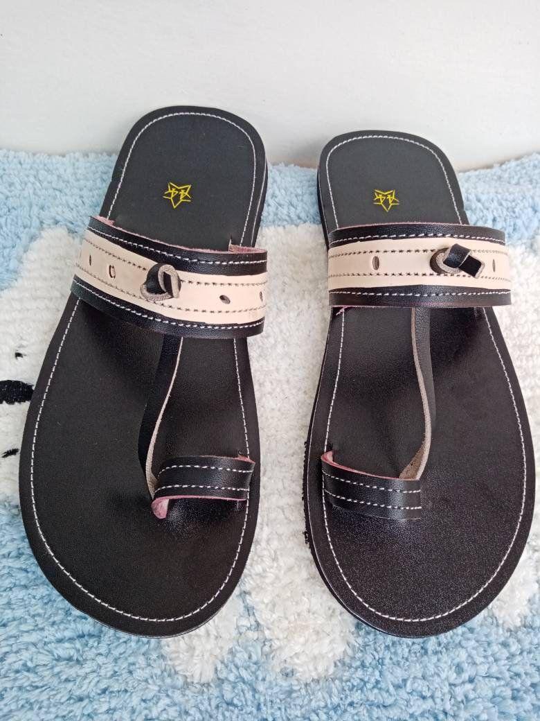 African beaded men shoes handmade sandals masai sandals