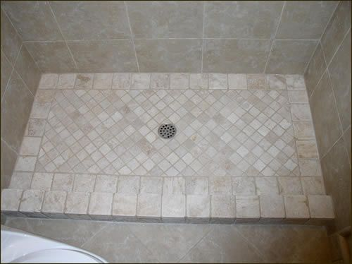 Shower Floor Tile Design Ideas Euffslemani