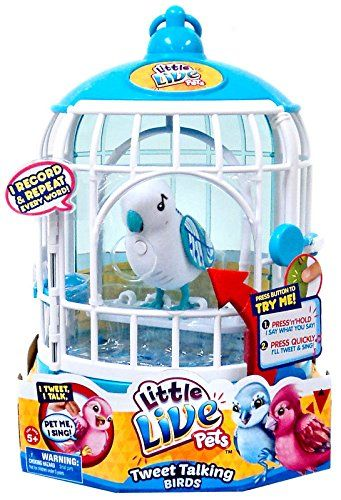 Little Live Pets S2 Bird With Cage Singalong Sammy Little Live Pets Toddler Girl Toys Christmas Girl