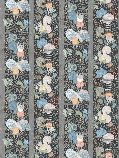 Charlie Wallpaper - Night Sky - By Boråstapeter - 6252