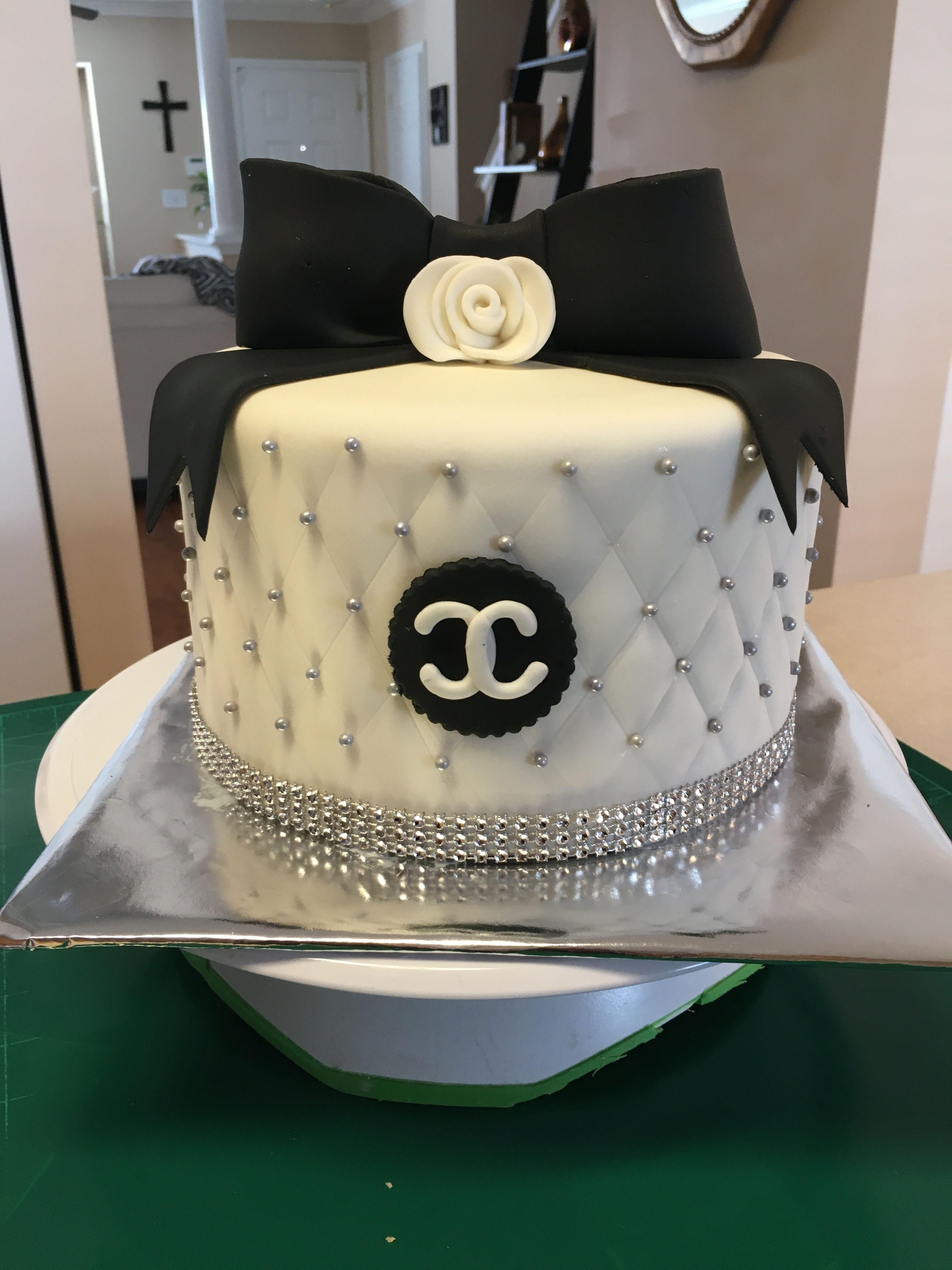 Chanel cake cake chanel cake desserts