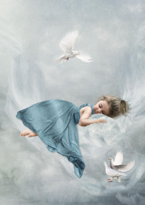 tr um s ss kleiner engel angel and fairies tr ume s e tr ume und engel. Black Bedroom Furniture Sets. Home Design Ideas