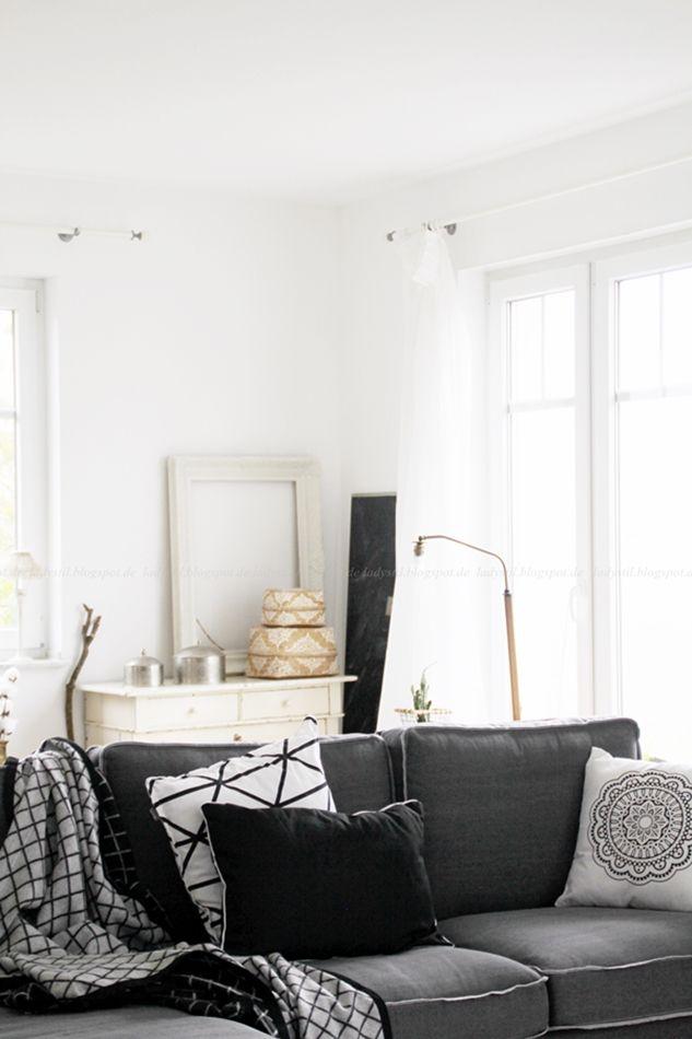 Deko donnerstag und unser neues wohnzimmer wohlf hloase wohnzimmer livingroom for Dekoration wohnzimmer weiss