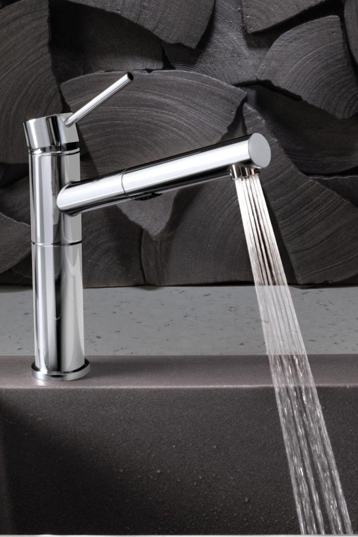 blanco alta faucet modern kitchen
