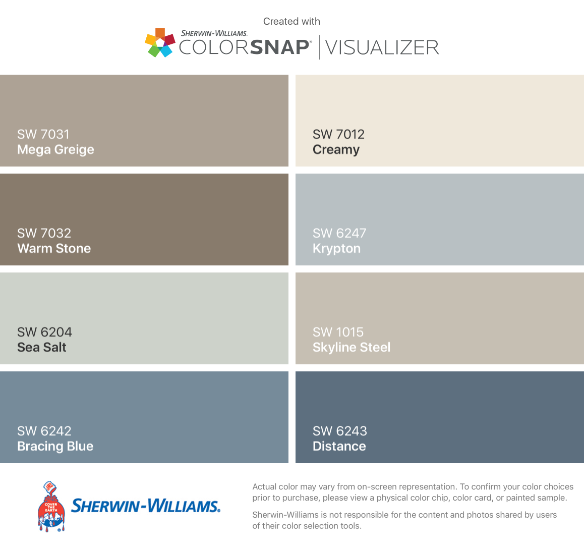 Paint Colors For Home House
