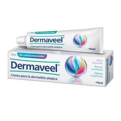 nom comercial: dermaveel laboratori: heel españa ff: crema dosi: 1 tub de 30 ml indicacions: Dermaveel es un producte sanitari per el tractament complementari de la dermatitis atópica