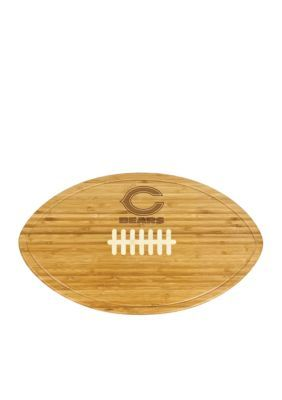 Picnic Time Chicago Bears Kickoff Bamboo Serving Tray - Brown ...
