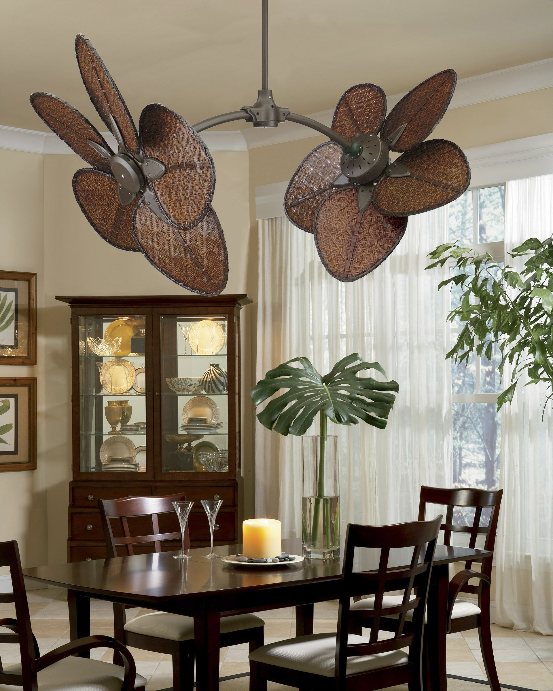 feel the breeze cool down your dinning room with this elegant ceiling fan dining room. Black Bedroom Furniture Sets. Home Design Ideas