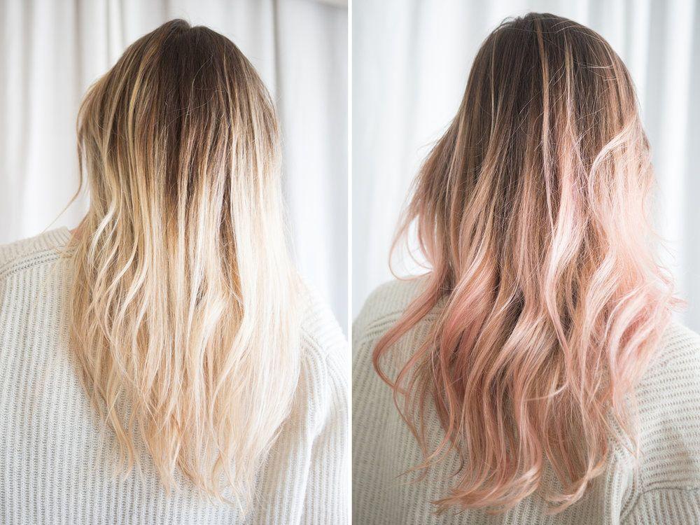Test Lab Kristen Ess For Target Rose Gold Tint Hair Tint Anna Hair Hair Styles