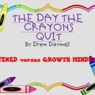 This activity set includes 8 reproducible pages to target fixed and growth mindset using the book The Day the Crayons Quit by Drew Daywalt. Includ...