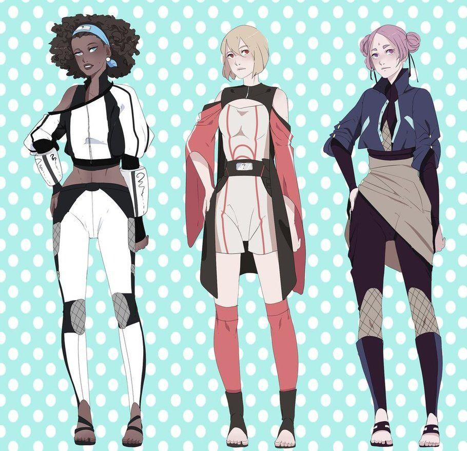 Yamanaka Ino By Rice Su On Deviantart: Naruto OC Kira Yuki By KasuCatdeviantartcom On DeviantArt