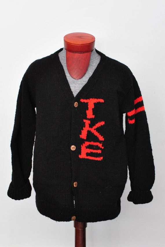custom greek letter fraternity sorority sweater varsity letter cardigan hand knit wool sweater on etsy