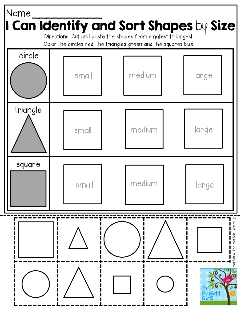 back to school no prep math and literacy packet kindergarten shapes school and math. Black Bedroom Furniture Sets. Home Design Ideas
