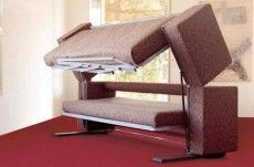 Couch Bunk Bed Transformer convertible rv bunk bed sofa transformer - unique rv furniture