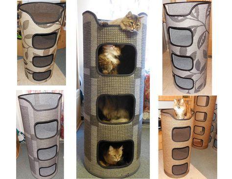 diy kratztonnen tiere pinterest katzen kratztonne und katzen spielzeug. Black Bedroom Furniture Sets. Home Design Ideas