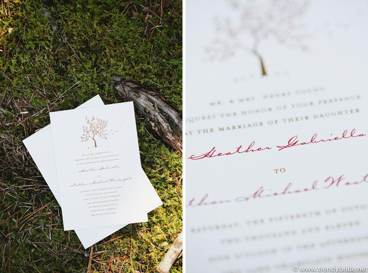 Cute Fall Wedding Invitaton Photo By Www Keepsakemp Com Wedding