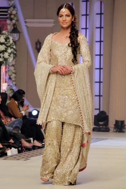 pakistani famous dress wedding fensi