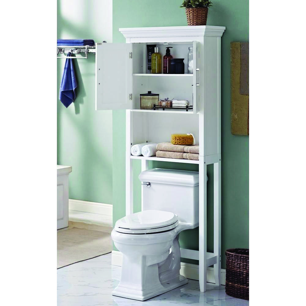 Stunning Ideas For A Over The Toilet Tank Storage Exclusive On Shopy Home Decor Toilet Storage Bathroom Space Simpli Home