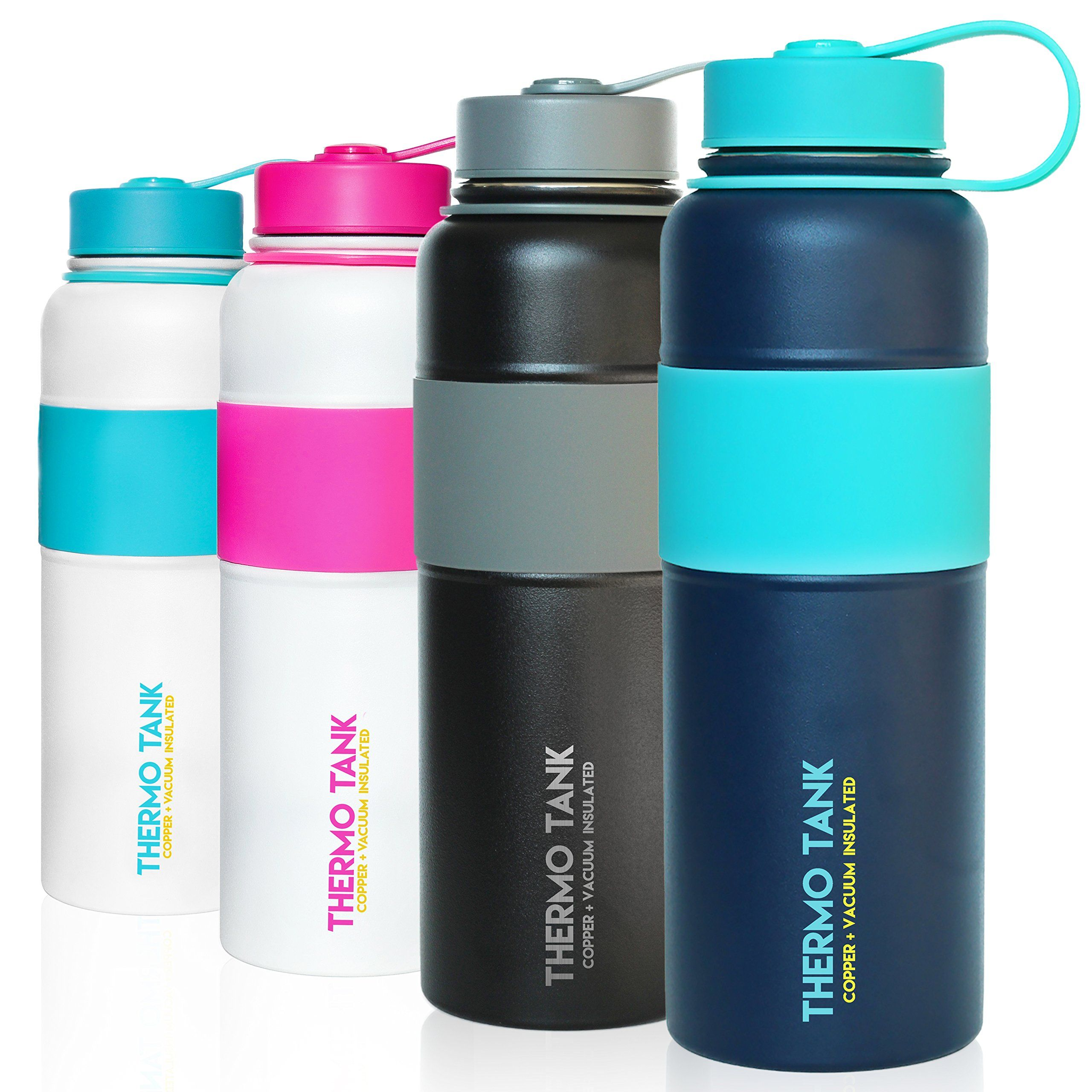 Thermo Tank Insulated Stainless Steel Water Bottle Ice Cold 36 Hours Vacuum Copper Technolog With Images Insulated Stainless Steel Water Bottle Stainless Bottle Bottle