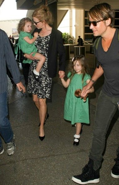 Keith Urban - Nicole Kidman and Family Arrive at LAX — Part 2