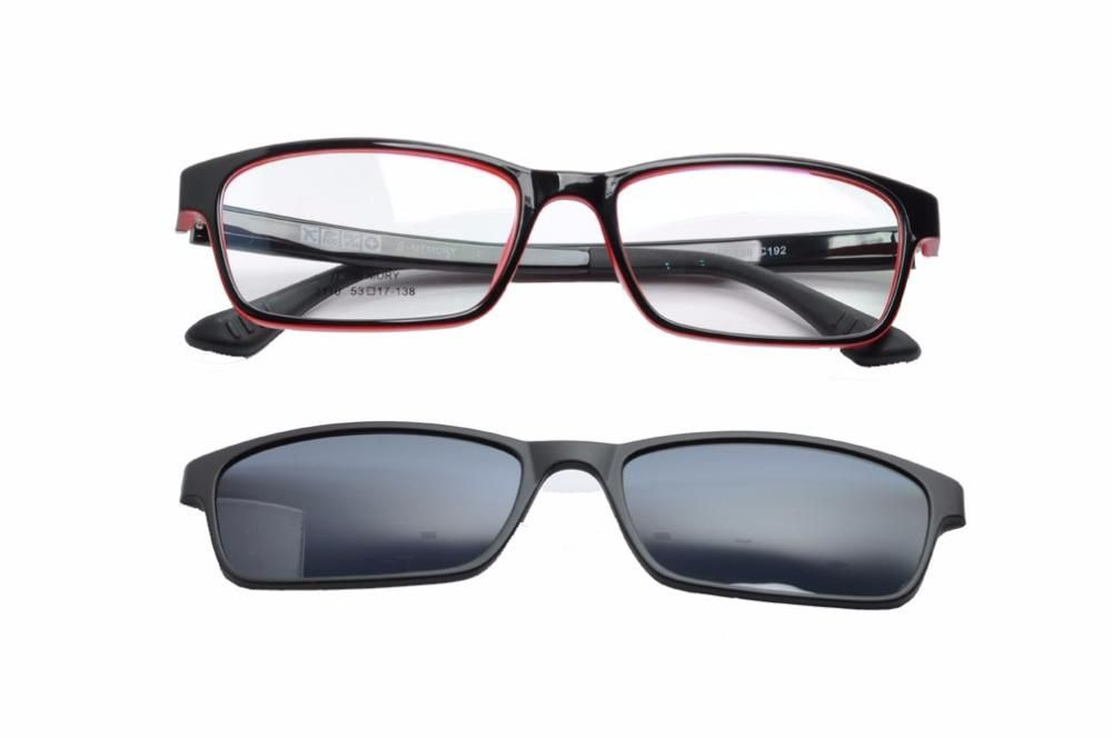 dd067265a74 EV Frame With Magnetic Polarized Glasses Sunglasses Clip Polarized  Sunglasses Clip On Myopia Driving Glasses Purpose EV1409NEW. Yesterday s  price  US  5.00 ...