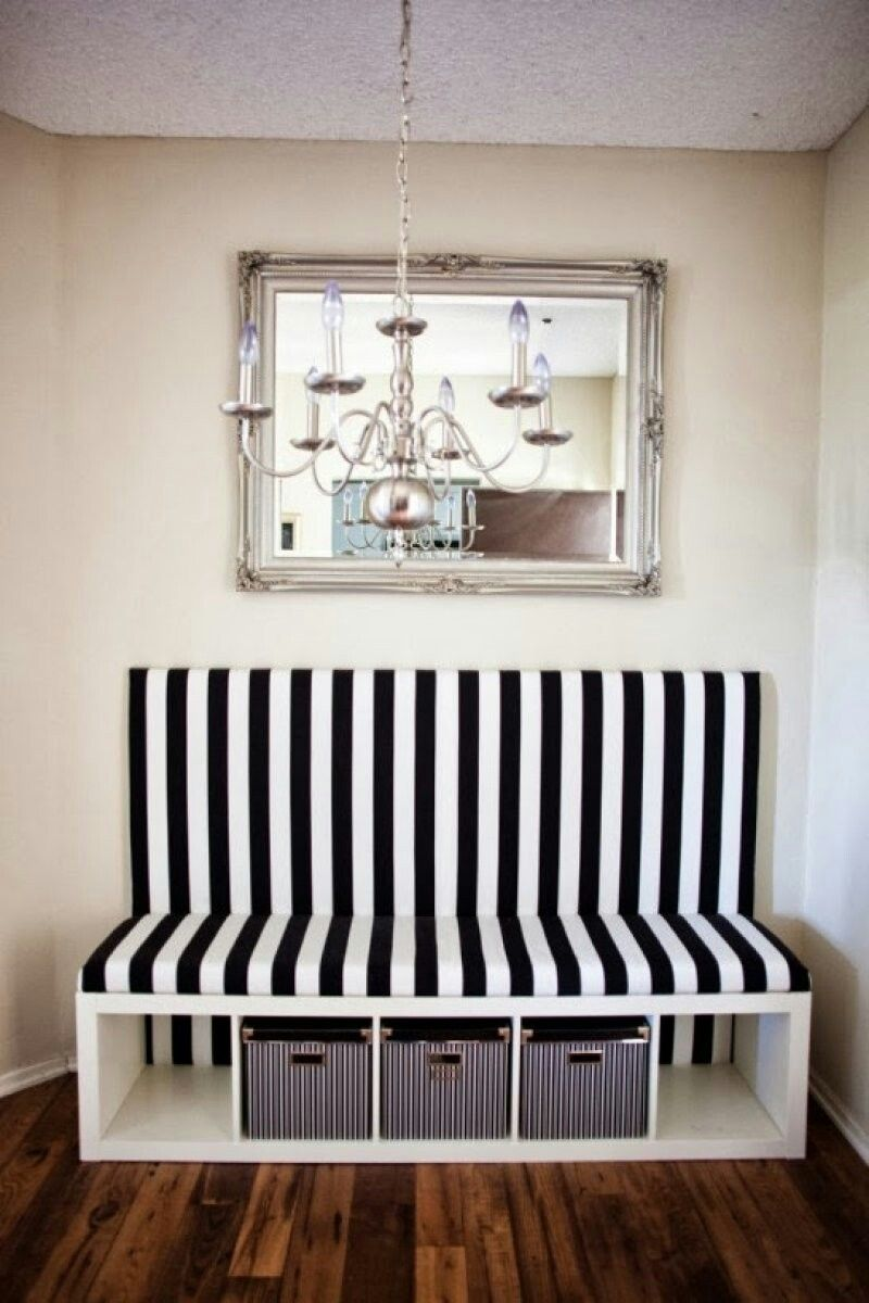Home Decor New And Improved Dining Banquette Ikea Hack