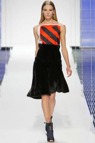 Ohmygoodness itsafurskirt! Wants. Christian Dior Resort 2015 Collection Slideshow on Style.com