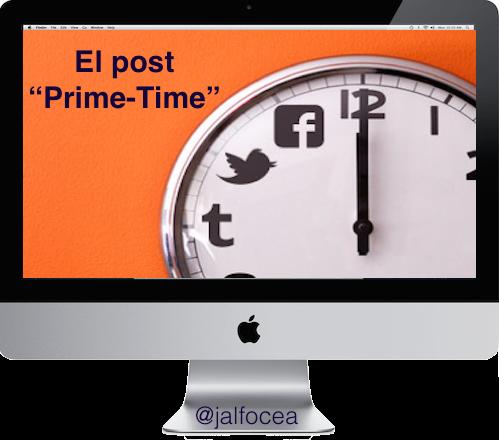 "El post ""Prime Time"": ¿cuál es el momento ideal para publicar?"
