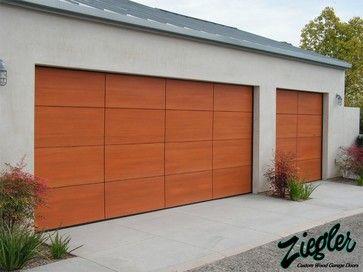 Garagentor mit tür modern  Modern Garage Doors - Modern - Garage Doors - Orange County ...